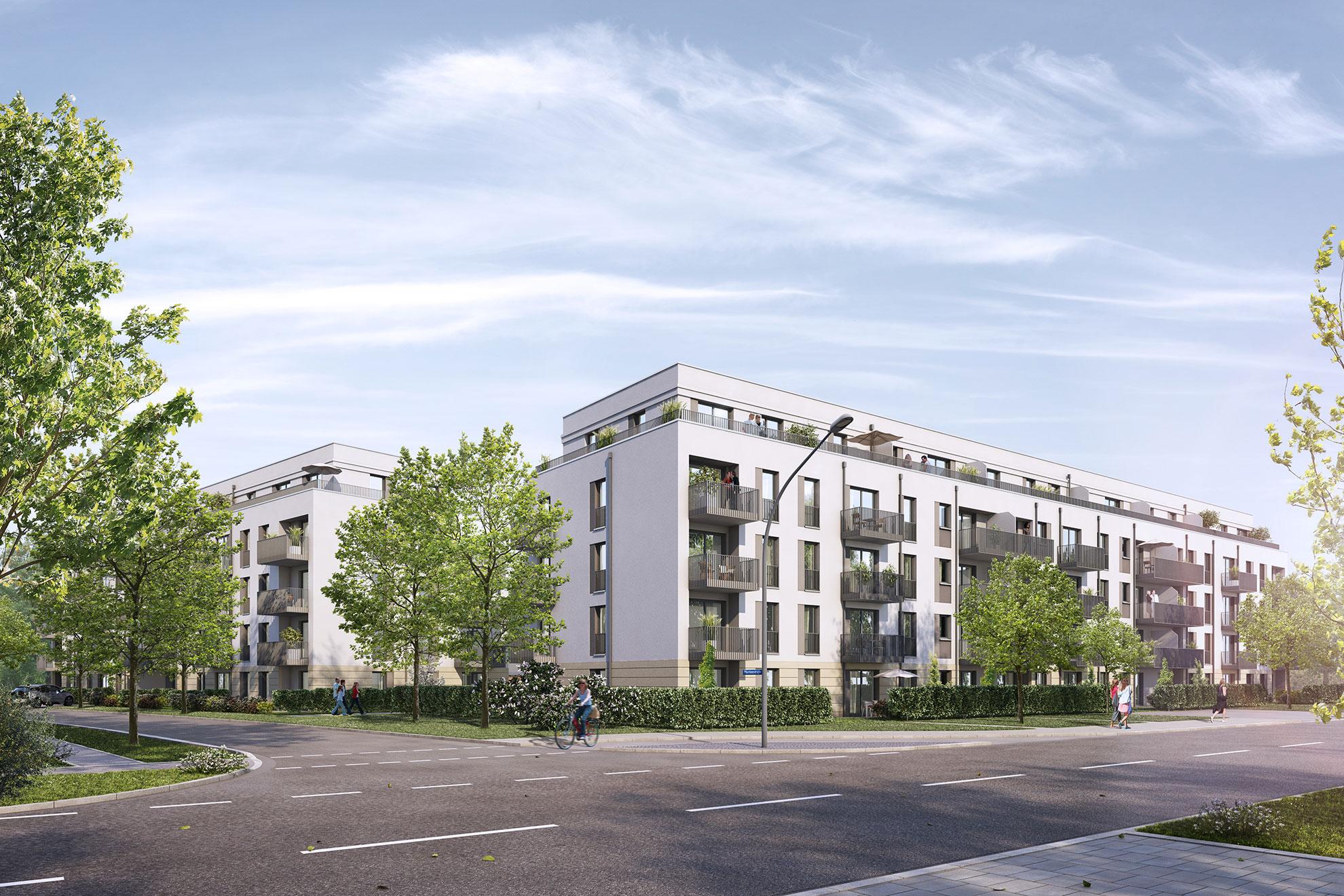 Eigentumswohnungen Milbertshofen - Am Hart - linden.park in München