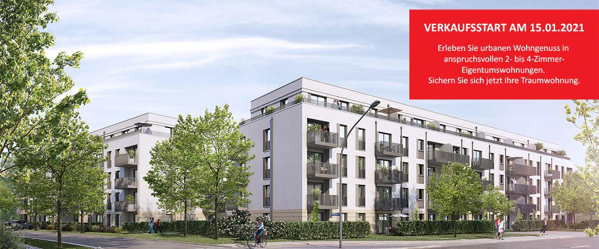 Eigentumswohnungen Milbertshofen/Am Hart - linden.park in München